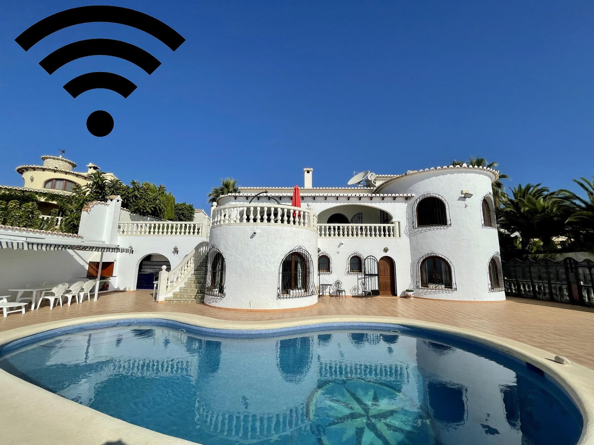 Villa -                                       Benitachell -                                       4 chambres -                                       8 occupants